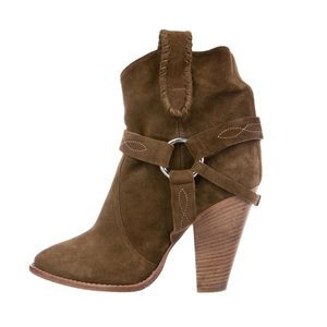 Isabel Marant Suede Rawson Ankle Boots